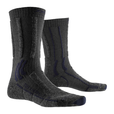 X-SOCKS - X MERINO LIGHT - Calcetines antracita