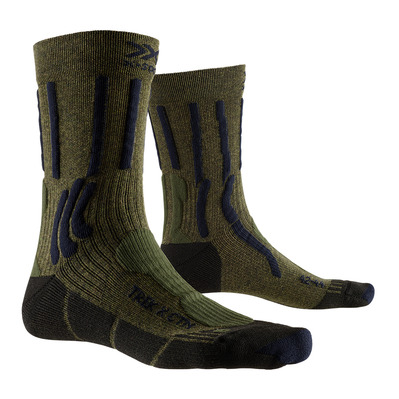 X-SOCKS - TREK X CTN - Socken - green/blue