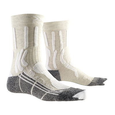 X-SOCKS - TREK X CTN - Socks - Women's - white/anthracite
