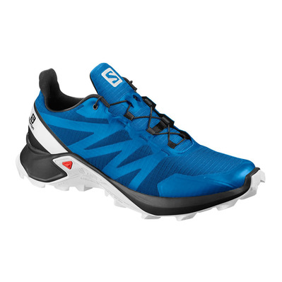 SALOMON - SUPERCROSS - Chaussures trail Homme indigo bunting/black/wht