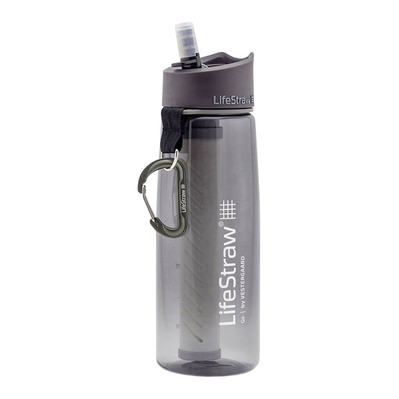 LIFESTRAW - GO 2 STAGES - Gourde filtrante grey
