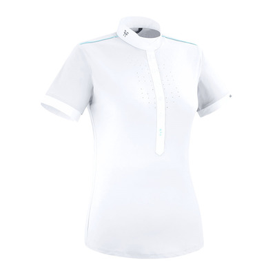 HORSE PILOT - AEROLIGHT - Show Polo Shirt - Women's - white