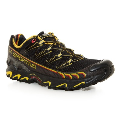 LA SPORTIVA - ULTRA RAPTOR - Trailrunningschuhe Männer black/yellow