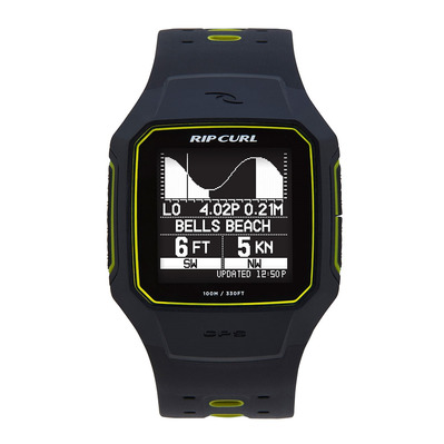 RIP CURL - SEARCH GPS 2 - Surf-Uhr yellow