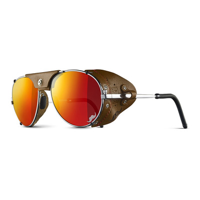 JULBO - CHAM RANCHO - Gletscherbrille messing/rehbraun - multilayer rot verspiegelt
