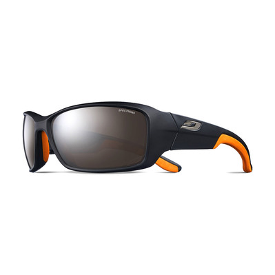 JULBO - RUN - Gafas de sol black mat/orange/flash silver