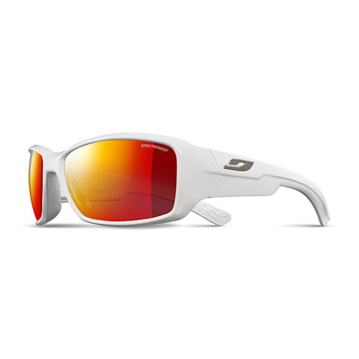 JULBO - WHOOPS - Sunglasses - gloss white/multilayer red