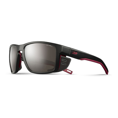 JULBO - SHIELD - Gafas de sol black/black/orange/flash silver