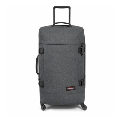 EASTPAK - TRANS4 68L - Suitcase - black denim