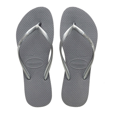 HAVAIANAS - SLIM - Flip-Flops - Women's - steel grey