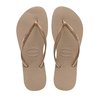 HAVAIANAS - SLIM - Chanclas mujer pink gold