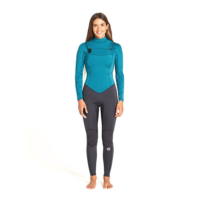 BILLABONG - LS Full Wetsuit - 3/2mm Women's - FURNACE SYNERGY CZ GBS pacific