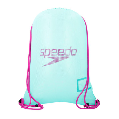 SPEEDO - MESH 35L - Net Bag - green/purple