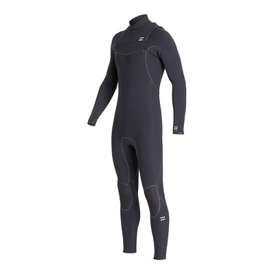 BILLABONG - FURNACE ULTRA CZ - Chestzip Neoprenanzug 4/3mm Männer black