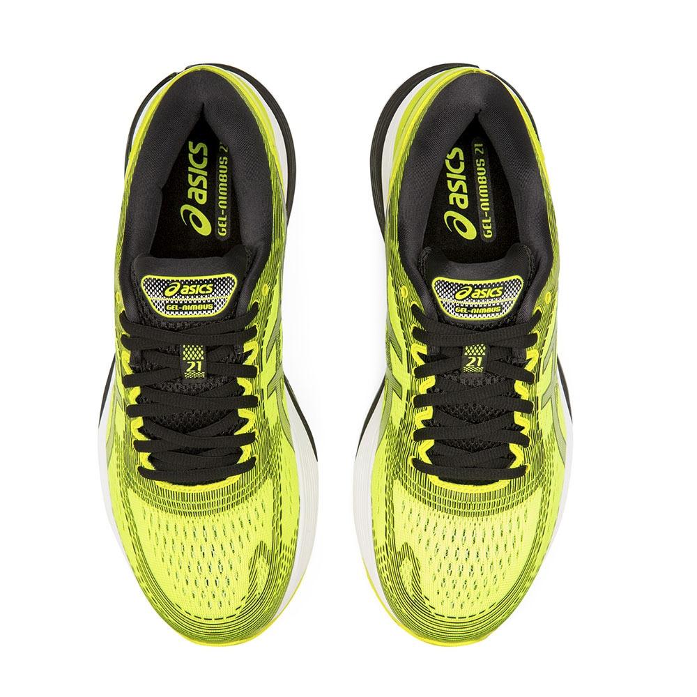 Asics GEL NIMBUS 21 Scarpe da running Uomo safety yellow