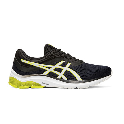 ASICS - PULSE 11 - Chaussures running Homme black/neon lime