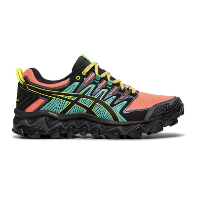 ASICS - GEL-FUJITRABUCO 7 - Chaussures trail Femme sun coral/black