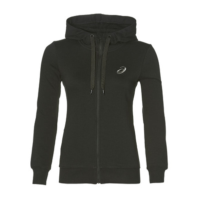 ASICS - CHEST LOGO - Sweat Femme performance black