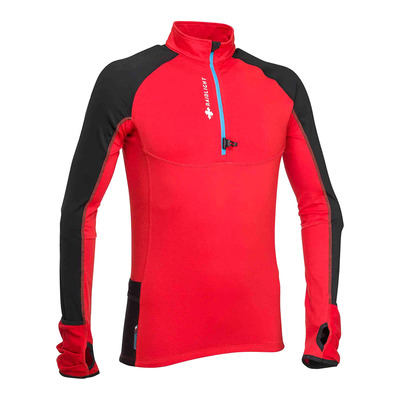 RAIDLIGHT - WINTERTRAIL - Jersey - Men's - red/black