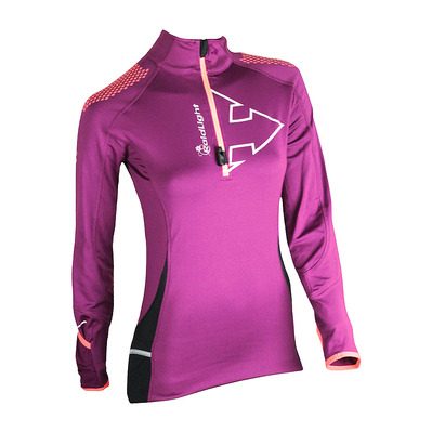 RAIDLIGHT - WINTERTRAIL - Camiseta mujer  grenat