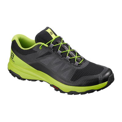 SALOMON - XA DISCOVERY - Chaussures trail Homme black/lime green/magnet