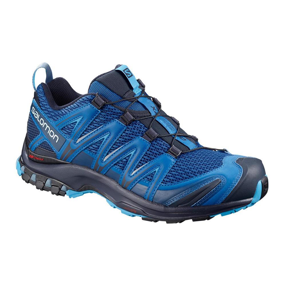 SALOMON - XA PRO 3D - Trail Shoes - Men's - sky diver/navy blazer/hawaiian ocean