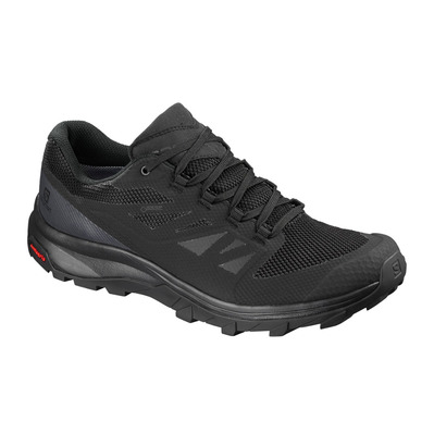 SALOMON - OUTLINE GTX - Hiking Shoes - Men's - black/phantom/magnet