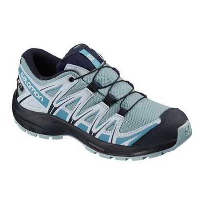 SALOMON - XA PRO 3D CSWP - Hiking Shoes - Junior cashmere blue/illusion blue/cyan blue