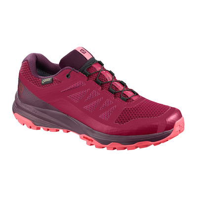 SALOMON - XA DISCOVERY GTX - Trail Shoes - Women's - beet red/potent purple/calypso coral