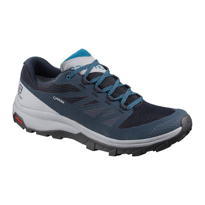 SALOMON - OUTLINE GTX - Hiking Shoes - Men's - navy blazer/quarry/lyons blue