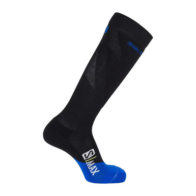 SALOMON - Socks S/MAX M Black/Surf The Web Homme Black/Surf Web