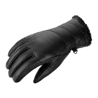 SALOMON - NATIVE - Gloves - Women's - black