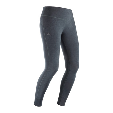 SALOMON - COMET TECH LEG - Tights - Women's - black/ebony/heather