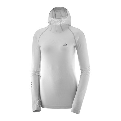 SALOMON - LIGHTNING PRO - Sweatshirt - Women's - lunar rock