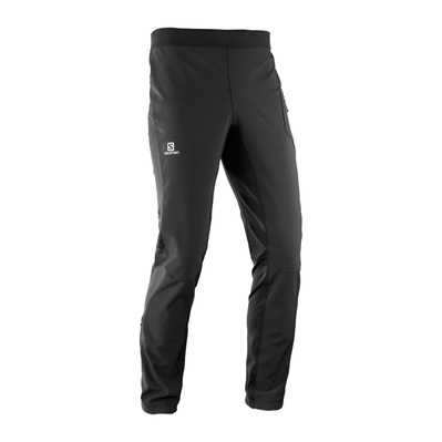 SALOMON - RS WARM SOFTSHELL - Pants - Men's - black