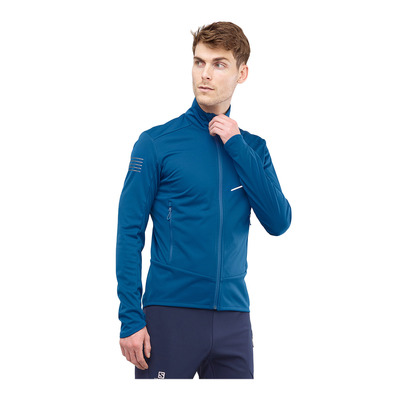 SALOMON - RS SOFTSHELL - Jacket - Men's - poseidon