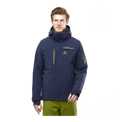 SALOMON - BRILLIANT - Chaqueta de esquí hombre night sky