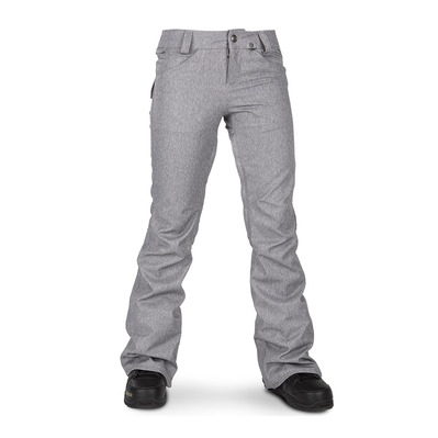 VOLCOM - SPECIES STRETCH - Pantaloni snowbord Donna heather grey