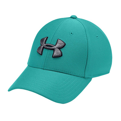 UNDER ARMOUR - BLITZING 3.0 - Casquette Homme teal rush