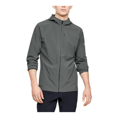 UNDER ARMOUR - OUTRUN THE STORM V2 - Veste Homme pitch gray