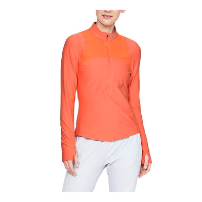 UNDER ARMOUR - QUALIFIER - Camiseta mujer coral dust