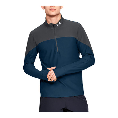UNDER ARMOUR - QUALIFIER - Maillot Homme teal vibe