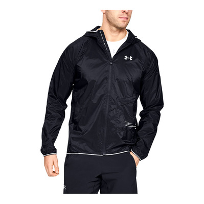 UNDER ARMOUR - UA QUALIFIER STORM PACKABLE JACKET-BLK Homme Black1326597-001