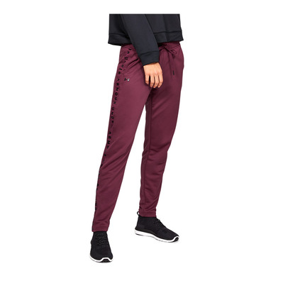 UNDER ARMOUR - TECH TERRY - Pantalón de chándal mujer level purple