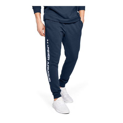UNDER ARMOUR - RIVAL FLEECE WORDMARK LOGO - Jogging Homme academy