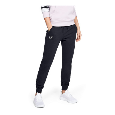 UNDER ARMOUR - RIVAL FLEECE SPORTSTYLE GRAPHIC - Jogging Femme black
