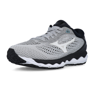 MIZUNO - WAVE SKY 3 - Chaussures running Homme glaciergray/wht/eblue