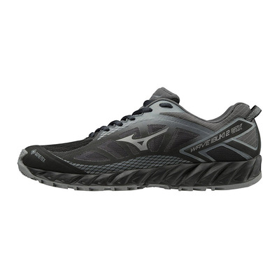 MIZUNO - WAVE IBUKI 2 GTX - Zapatillas de trail hombre black/shade/shadow