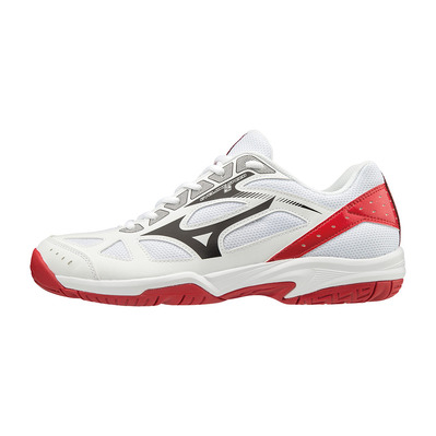 MIZUNO - CYCLONE SPEED 2 - Zapatillas de voleibol wht/blk/red186c