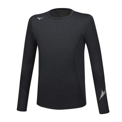 MIZUNO - VIRTUAL BODY G2 CREW - Sous-couche Homme black/black